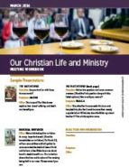 Our Christian Life & Ministry (March 2016)