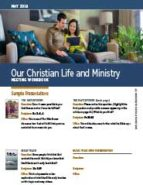 Our Christian Life & Ministry (May 2016)