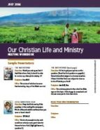 Our Christian Life & Ministry (July 2016)