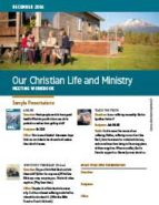 Our Christian Life & Ministry (December 2016)