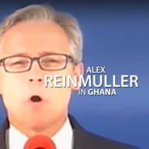 Alex Reinmuller in Ghana