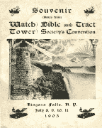 Niagra Falls International Convention Report (1905)