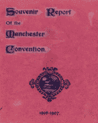 Manchester International Convention Report (1906)