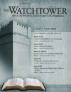 The Watchtower Study Edition February 15 2008
