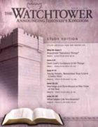 The Watchtower Study Edition April 15 2008