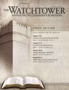 The Watchtower Study Edition June 15 2008