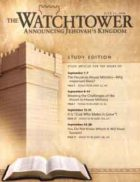 The Watchtower Study Edition July 15 2008