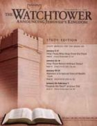 The Watchtower Study Edition November 15 2008