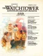 The Watchtower Study Edition January 15 2012