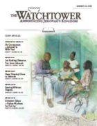 The Watchtower Study Edition January 15 2013