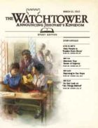 The Watchtower Study Edition March 15 2012