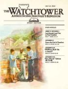 The Watchtower Study Edition July 15 2012