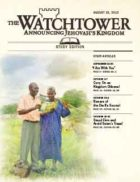 The Watchtower Study Edition August 15 2012