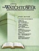 The Watchtower Study Edition September 15 2011