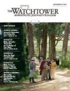 The Watchtower Study Edition September 15 2013