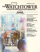 The Watchtower Study Edition October 15 2012