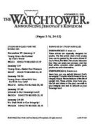 The Watchtower Study Edition November 15, 2010