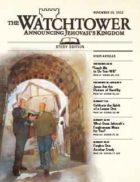 The Watchtower Study Edition November 15 2012