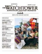 The Watchtower Simplified Edition January 15 2012