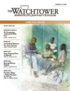 The Watchtower Simplified Edition January 15 2013