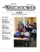 The Watchtower Simplified Edition March 15 2012