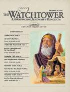 The Watchtower Simplified Edition September 15 2011