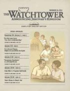 The Watchtower Simplified Edition November 15 2011