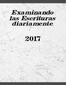 Examinando las Escrituras diariamente 2017 (2016) PDF