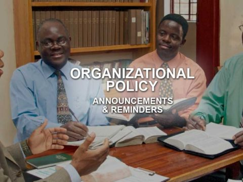 Organizational Policy of Jehovah's Witnesses
