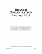 Branch Organization (Jan 2018) PDF
