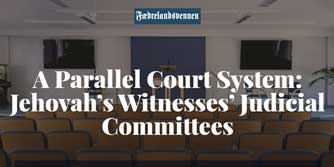 Jehovah's Witnesses' Judicial Committees