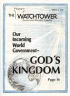 The Watchtower Mar 01 1978