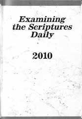 Examining the Scriptures Daily 2010