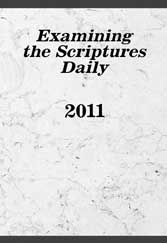 Examining the Scriptures Daily 2011
