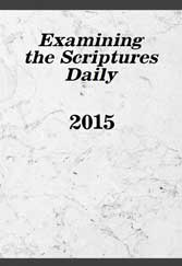 Examining the Scriptures Daily 2015
