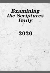 Examining the Scriptures Daily 2020